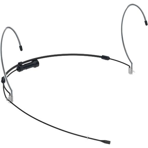 Countryman H6 Omni Headset Mic  (HG)  WM for Lectrosonics Waterproof (Black)