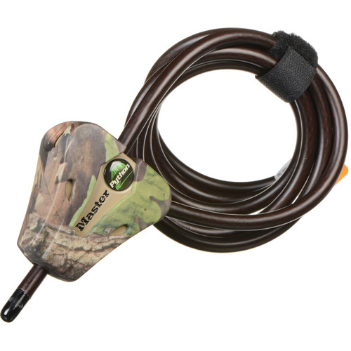 "Covert Scouting Cameras Master Lock Python Trail Camera Security Cable (Camo, 5/16"")"
