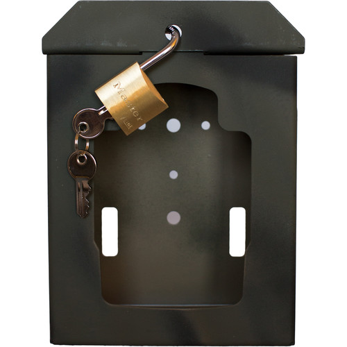 Covert Scouting Cameras Bear Safe with Padlock for MP-Series Cameras