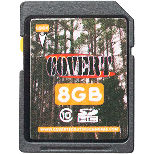 Covert Scouting Cameras SDHC Memory Card (8GB)