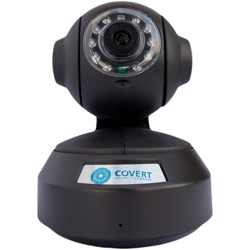 Covert Scouting Cameras iSpy Cam 720p Pan/Tilt Wi-Fi Network Camera