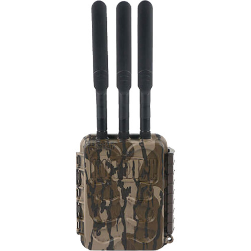 Covert Scouting Cameras LB-V3 Wireless Base Station and Three Trail Cameras Kit (Mossy Oak Camo)