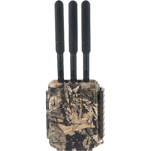 Covert Scouting Cameras LB-A3 Wireless Base Station and Three Trail Cameras Kit (Mossy Oak Camo)