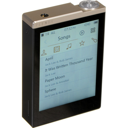 COWON Plenue D High-Resolution Audio Player (32GB, Gold/Black)