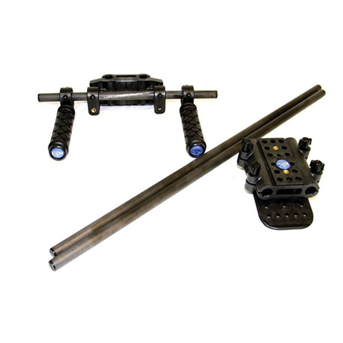 CPM Camera Rigs Rod Mounted Shoulder Kit (In Line)