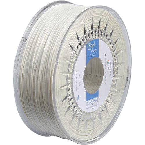 CraftBot 1.75mm ABS-X Filament (1kg, White)