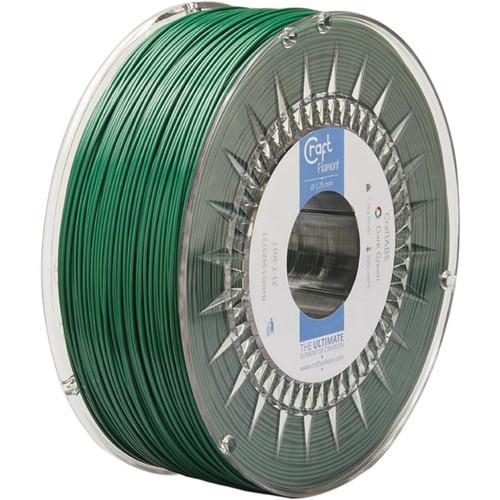 CraftBot 1.75mm ABS Filament (1kg, Dark Green)