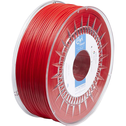 CraftBot 1.75mm ABS Filament (1kg, Red)