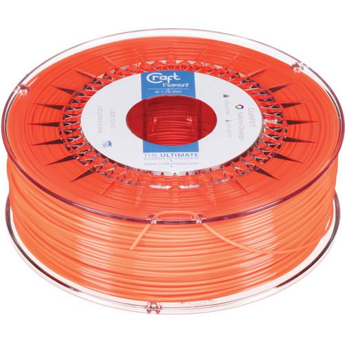 CraftBot 1.75mm PET-G Filament (1kg, Safety Orange)