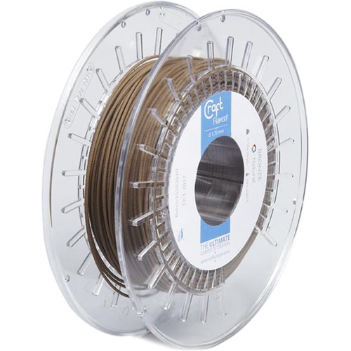 CraftBot 1.75mm PLA Extra Filament (0.5kg, Craft Bronze)