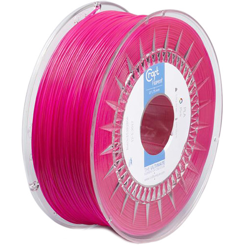 CraftBot 1.75mm PLA Filament (1kg, Pink)