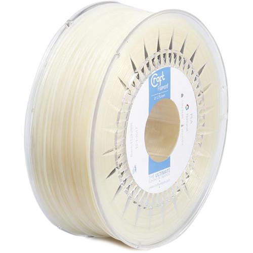 CraftBot 1.75mm PLA Filament (1kg, Natural)