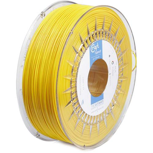 CraftBot 1.75mm PLA Filament (1kg, Yellow)