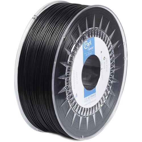 CraftBot 1.75mm PLA Filament (1kg, Black)