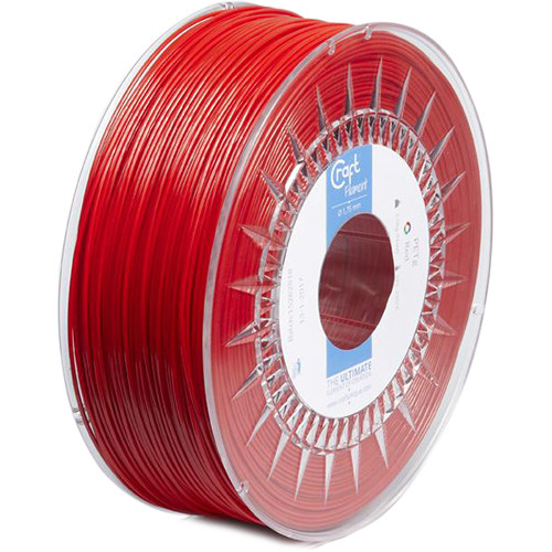 CraftBot 1.75mm PLA Filament (1kg, Red)
