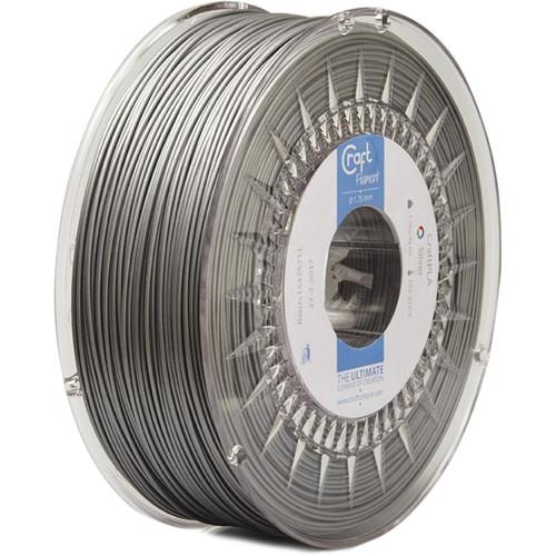 CraftBot 1.75mm PLA Filament (1kg, Silver)
