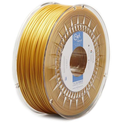 CraftBot 1.75mm PLA Filament (1kg, Light Gold)