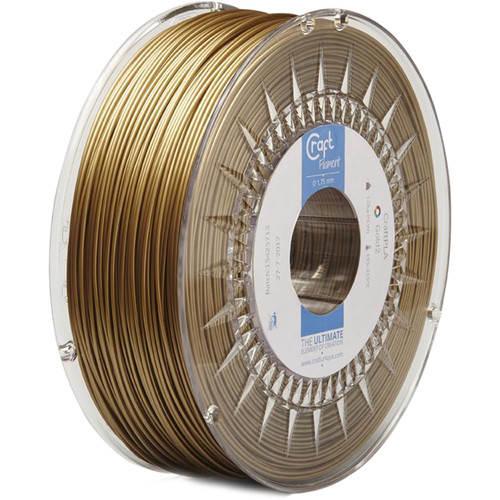 CraftBot 1.75mm PLA Filament (1kg, Dark Gold)