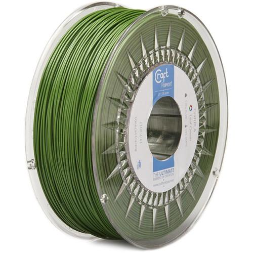 CraftBot 1.75mm PLA Filament (1kg, Leaf Green)