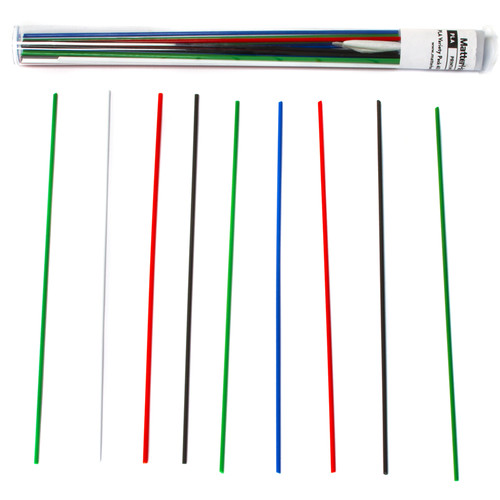 Crafty Pen 1.75mm PLA Filament Variety Pack (40 Strands)