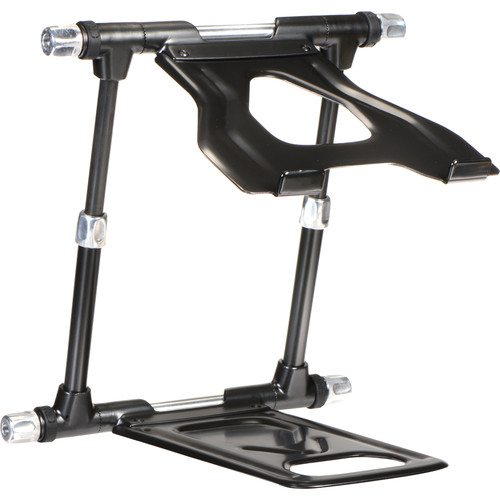 Crane Hardware Stand Elite - Height Adjustable Laptop, Tablet, Projector, and Controller Stand (Black)