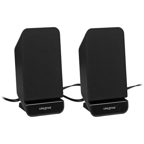 Creative Labs A60 2.0 Desktop Speakers (Black)