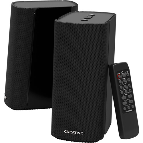 Creative Labs T100 Compact Desktop Speakers for Computers and Laptops