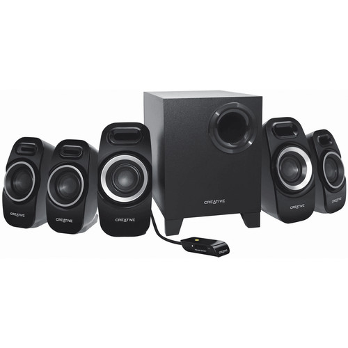 Creative Labs Inspire T6300 5.1 Speaker System for Gaming