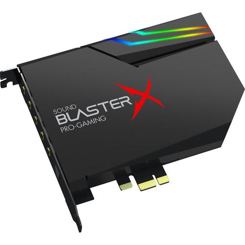Creative Labs Sound BlasterX AE-5 Sound Card and DAC with RGB Aurora Lighting