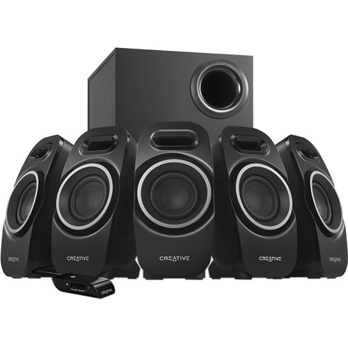 Creative Labs A550 5.1 Speaker System (Black)