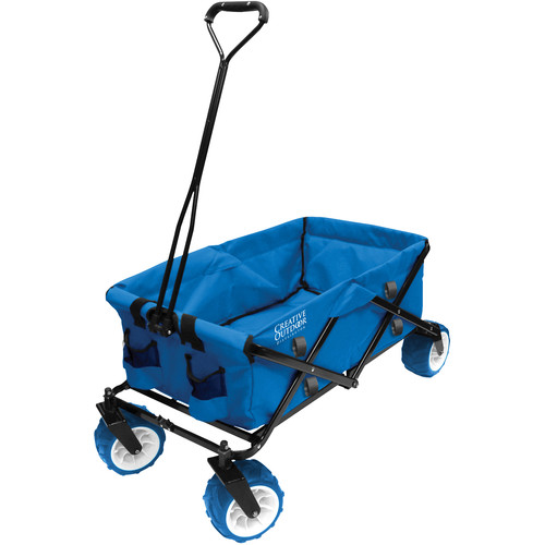 Creative Outdoor Distributor Big Wheel All-Terrain Wagon (Light Blue)