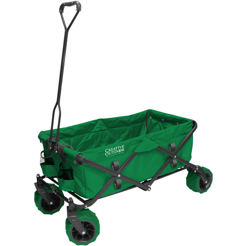 Creative Outdoor Distributor Big Wheel All-Terrain Wagon (Green)