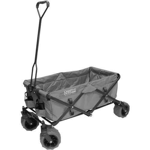 Creative Outdoor Distributor Big Wheel All-Terrain Wagon (Gray)