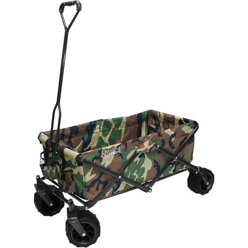 Creative Outdoor Distributor Big Wheel All-Terrain Wagon (Camo Print)