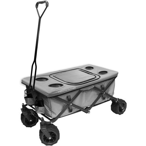 Creative Outdoor Distributor Big Wheel All-Terrain Cooler Wagon (Gray)
