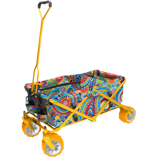 Creative Outdoor Distributor Big Wheel All-Terrain Wagon (Paisley Print)