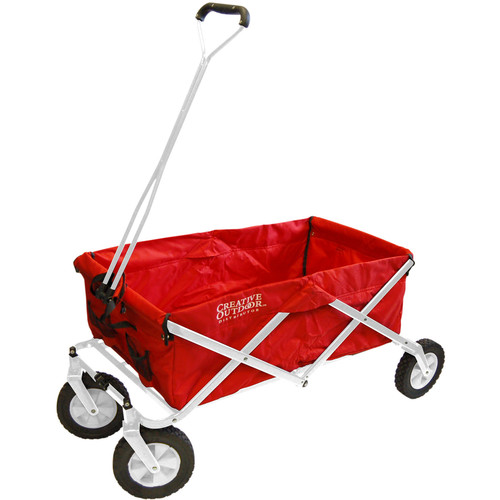 Creative Outdoor Distributor Original Folding Wagon (Red)
