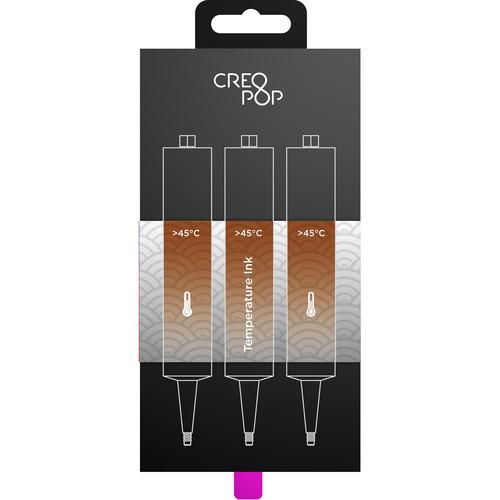 CreoPop Temperature Sensitive Ink 3-Pack (Brown)
