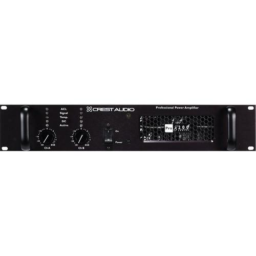Crest Audio Pro200 Series Pro 8200 Professional Power Amplifier (2RU)