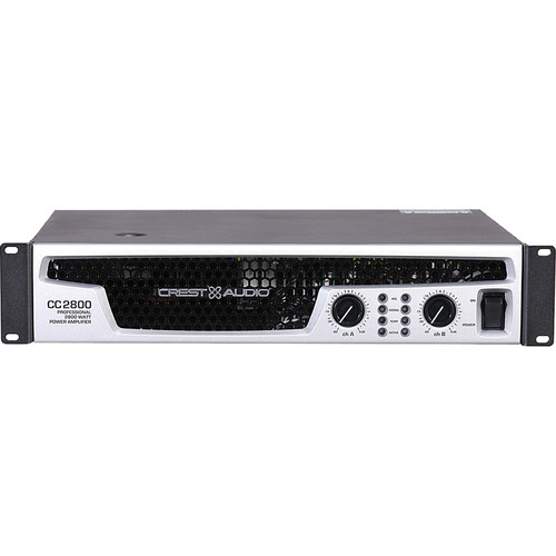 Crest Audio CC2800 Professional Power Amplifier (2800W, 2RU)