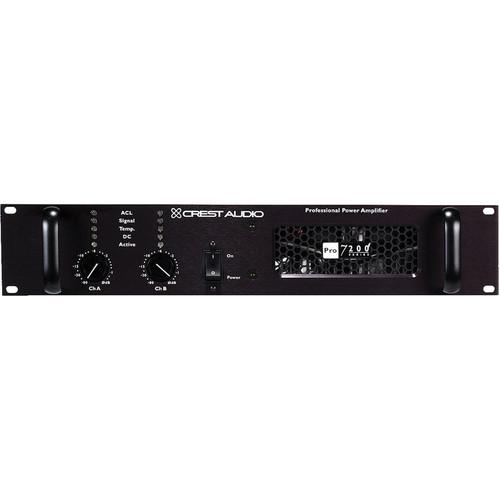 Crest Audio Pro200 Series Pro7200 Professional Power Amplifier (2RU)