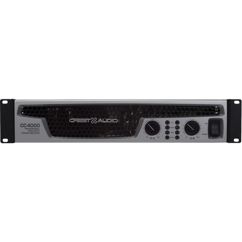 Crest Audio CC4000 Professional Power Amplifier (4000W, 2RU)