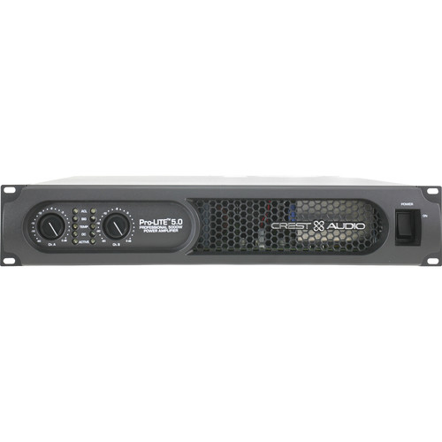 Crest Audio Pro-LITE 5.0 Professional Power Amplifier (5000W, 2RU)