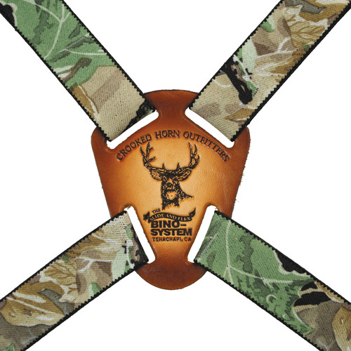Crooked Horn Outfitters Bino-System Binocular Harness (Realtree All Purpose Camo)