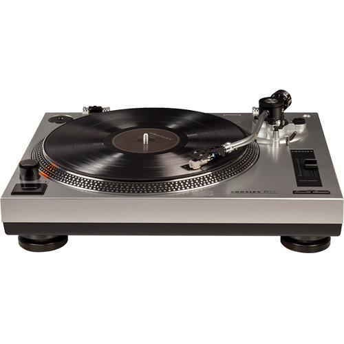 Crosley Radio C100A Turntable (Silver)