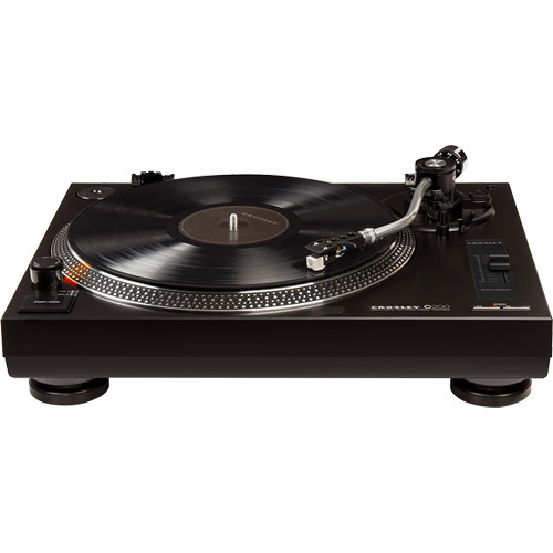 Crosley Radio C200A Turntable (Black)
