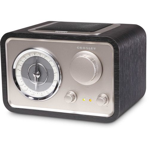 Crosley Radio SOLO AM/FM Radio (Black)