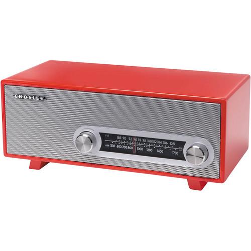 Crosley Radio CR3022A-RE Ranchero Tabletop Radio (Red)