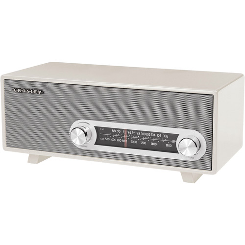Crosley Radio CR3022A-WH Ranchero Tabletop Radio (White)