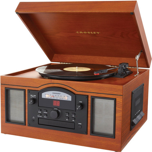 Crosley Radio CR6001 Archiver USB Turntable (Paprika)